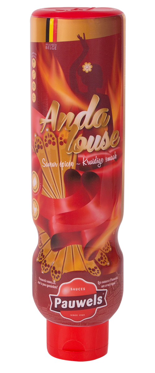 Andalouse van Pauwels Sauzen in 1 liter tube