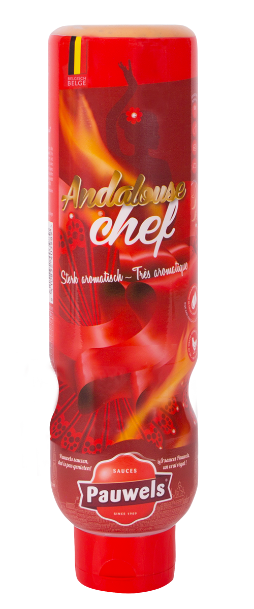 Andalouse Chef van Pauwels Sauzen in 1 liter tube