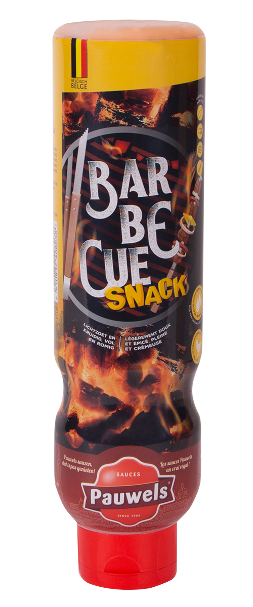 Barbecue Snack van Pauwels Sauzen in 1 liter tube