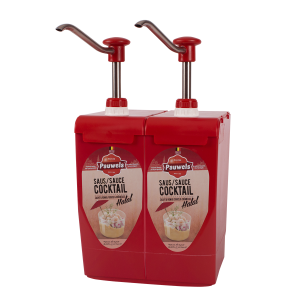 Cocktailsaus Halal van Pauwels Sauzen in 5 liter bag-in-box