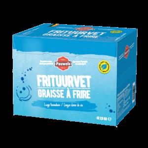 plantaardig frituurvet blauw pauwels sauzen