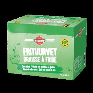 plantaardig frituurvet groen palmvet pauwels sauzen