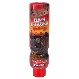 Hamburger Giga van Pauwels Sauzen in 1 liter tube