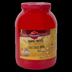Hollandse Frietsaus van Pauwels Sauzen in 3 liter PET pot