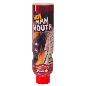 Hot Mammouth van Pauwels Sauzen in 1 liter tube