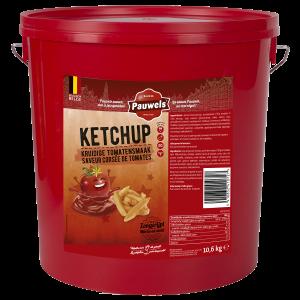 Ketchup van Pauwels Sauzen in 10 liter emmer