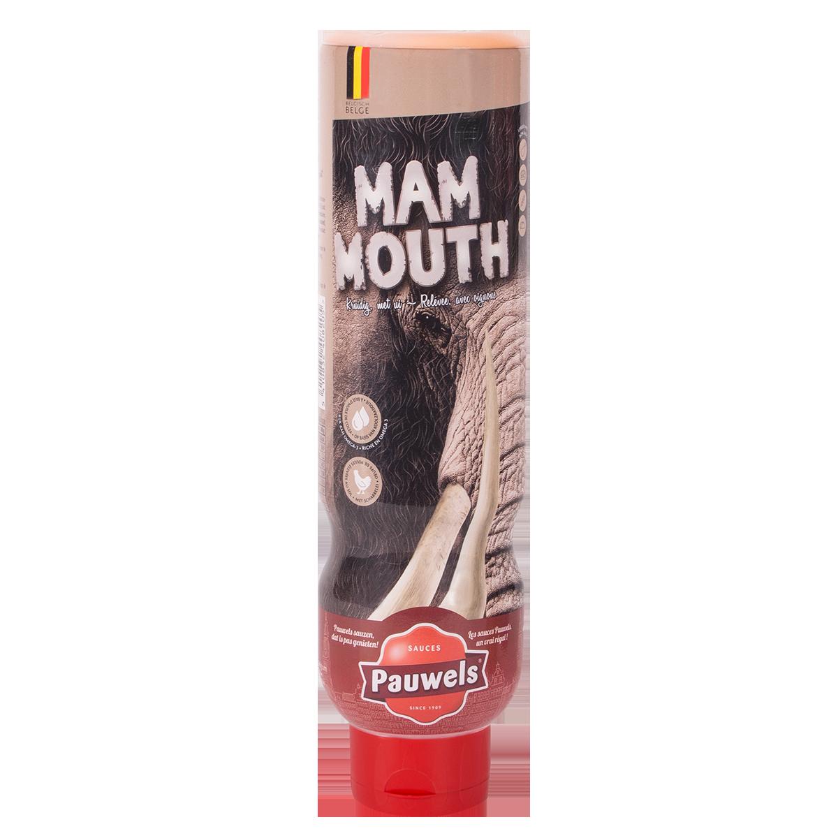 Mammouth van Pauwels Sauzen in 1 liter tube