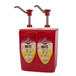 Mayonaise Chef van Pauwels Sauzen in 5 liter bag-in-box