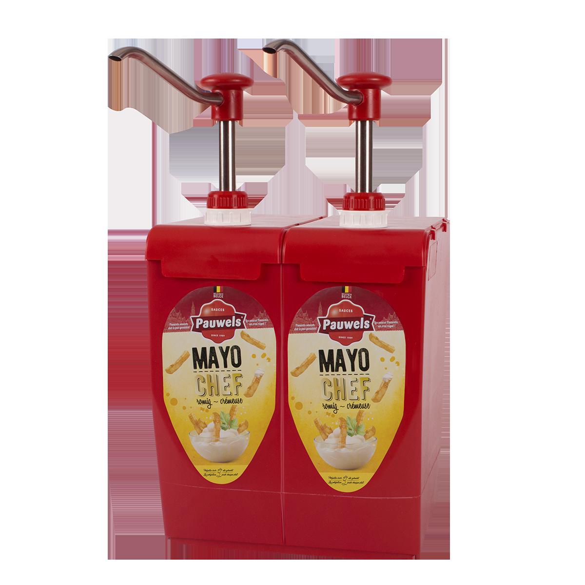 Mayonaise Chef van Pauwels Sauzen in 5 liter bag-in-box