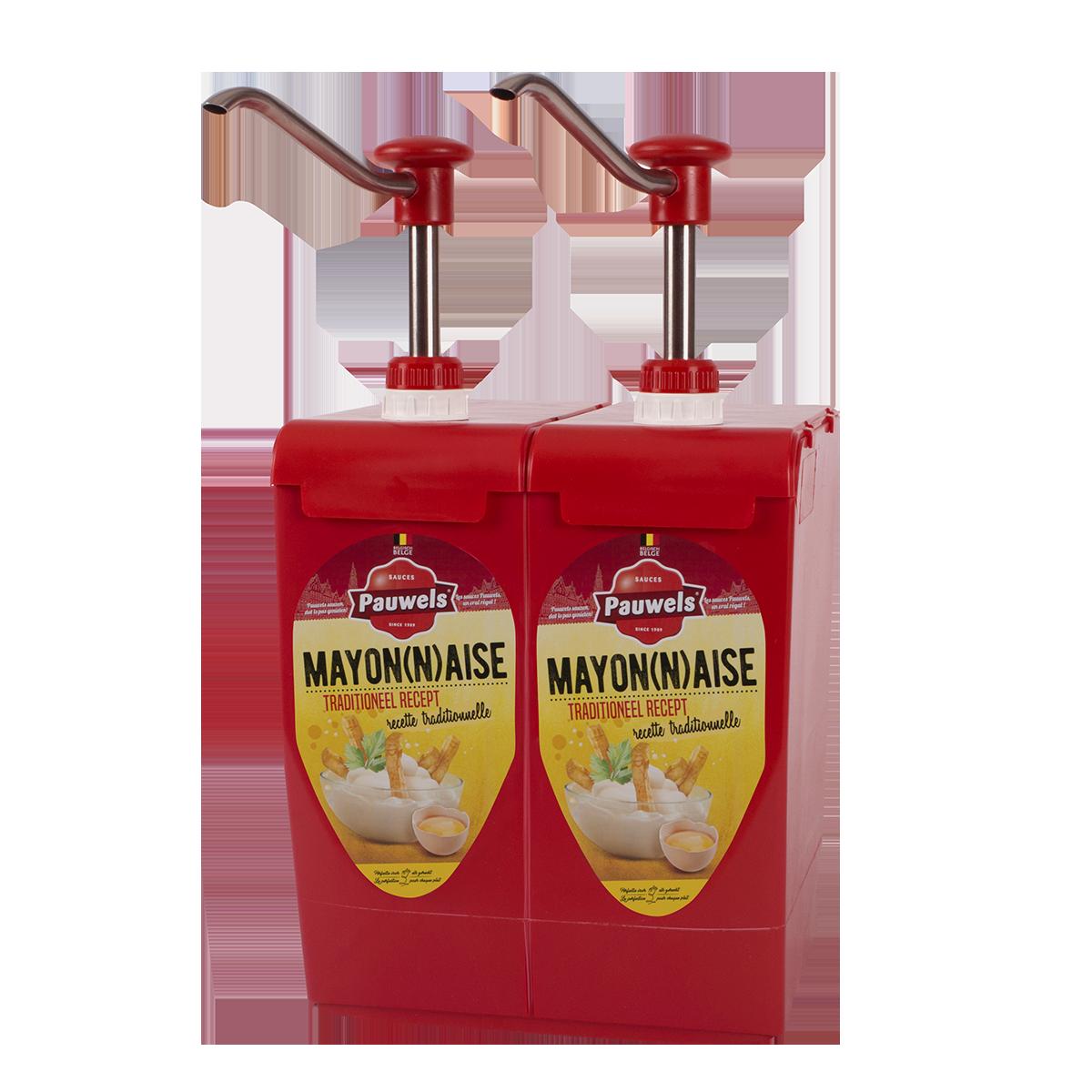 Mayonaise van Pauwels Sauzen in 5 liter bag-in-box