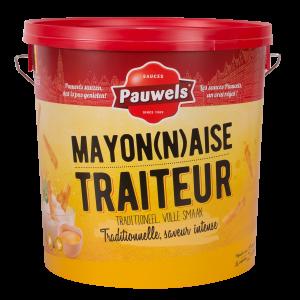 Mayonaise Traiteur van Pauwels Sauzen in 10 liter emmer