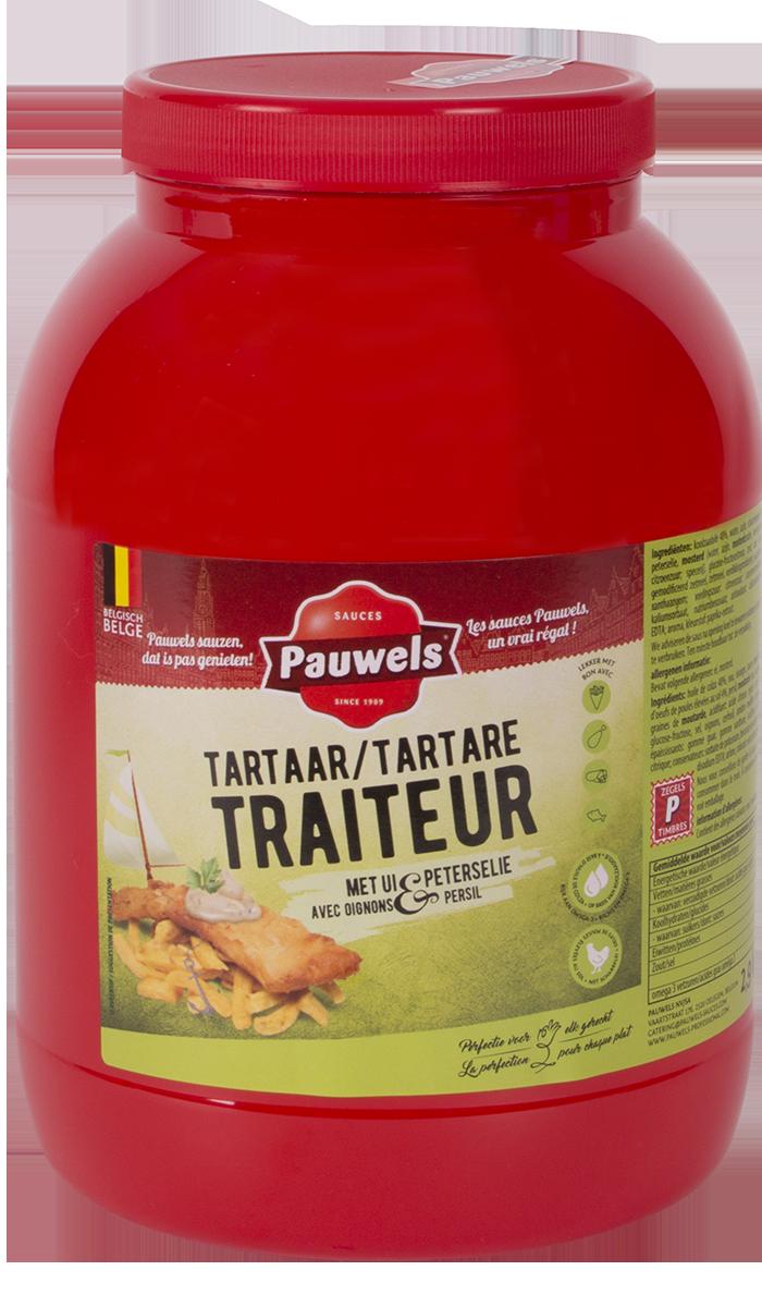 Tartaar Traiteur van Pauwels Sauzen in 3 liter PET pot