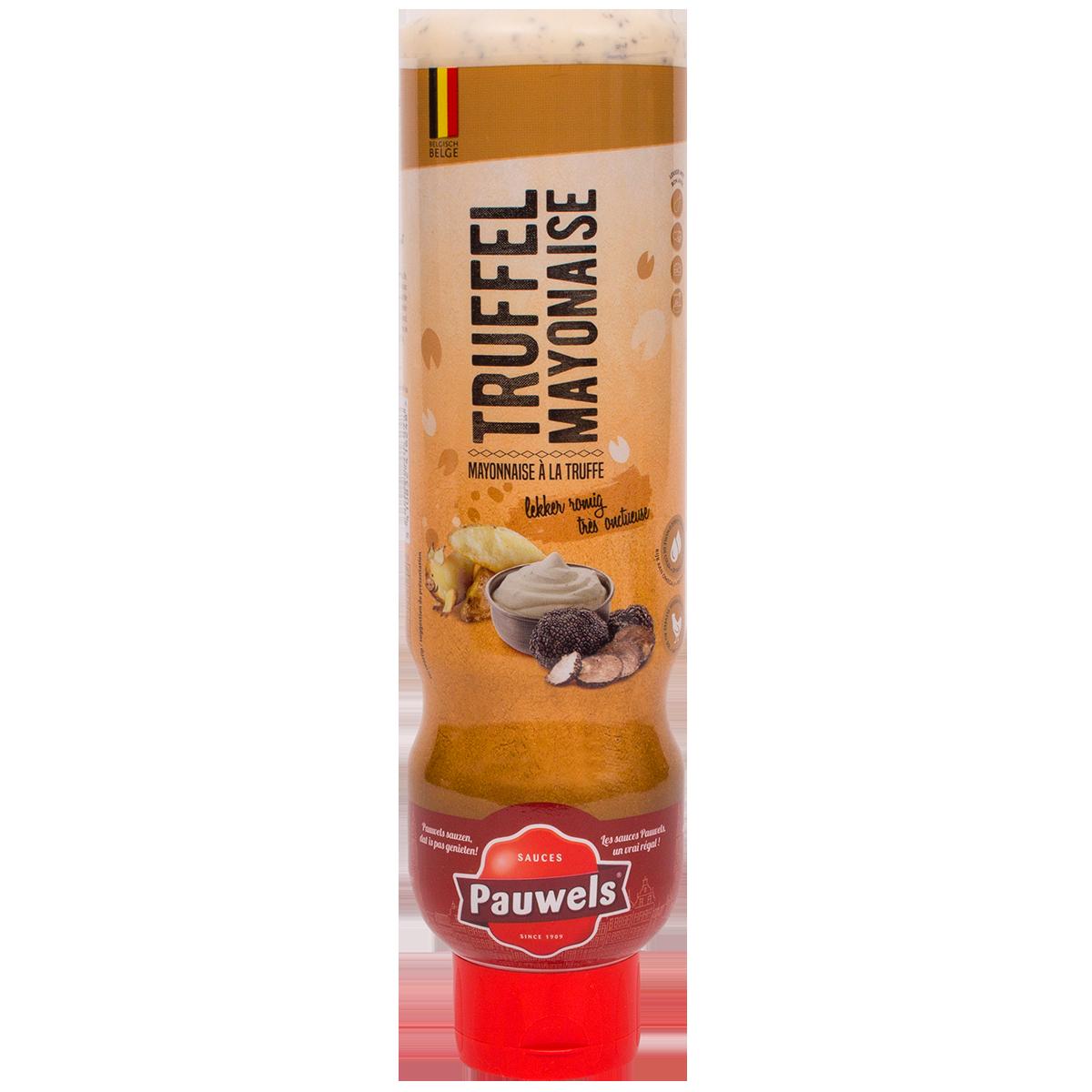 Truffel Mayonaise van Pauwels Sauzen in 1 liter tube