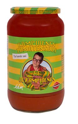 De Kampioenen Tomatensaus van Pauwels Sauzen