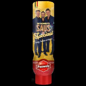 De Romeo's Saus Speciaal van Pauwels Sauzen in 1 liter tube