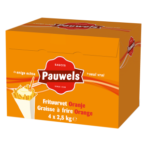 Frituurvet Oranje van Pauwels Sauzen