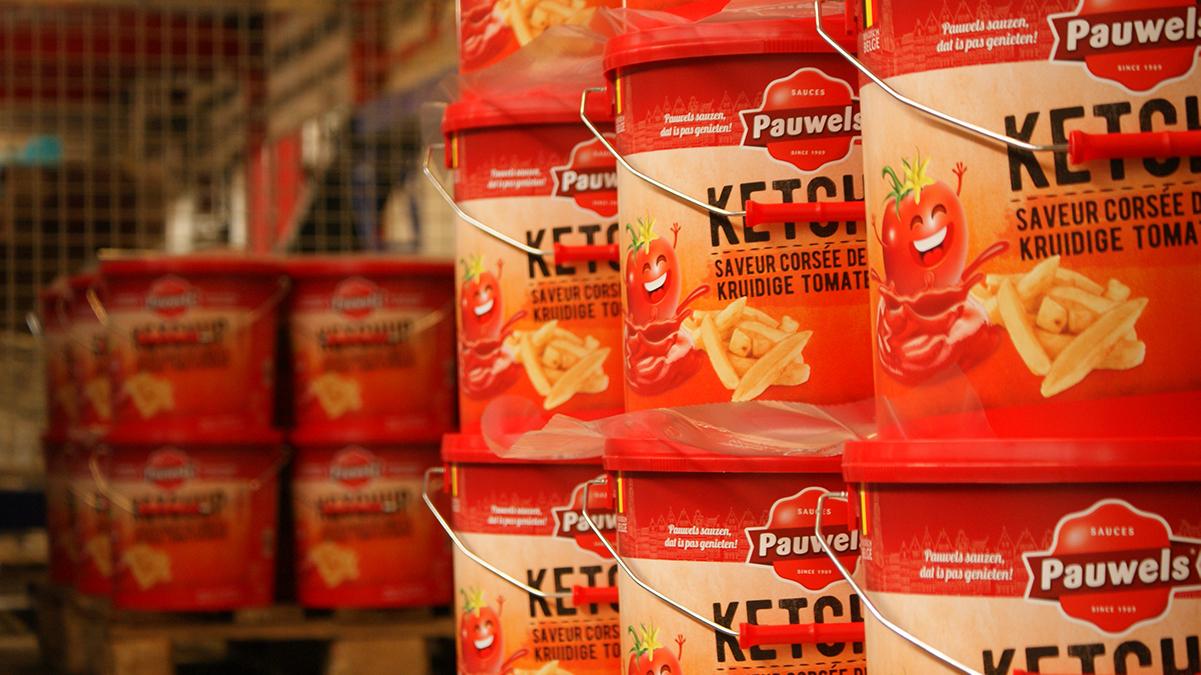 Ketchup Pauwels Sauzen 10l