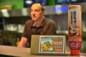 Frituur 't Pleintje Jalapeño Mayonaise Pauwels sauzen