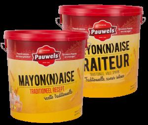 Mayonaise en Mayonaise Traiteur 10L Pauwels