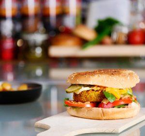 Burger Crispy Turkey met Triple_social