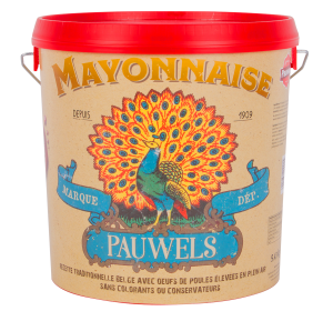 Mayonnaise 110 10L Seau Pauwels Sauces