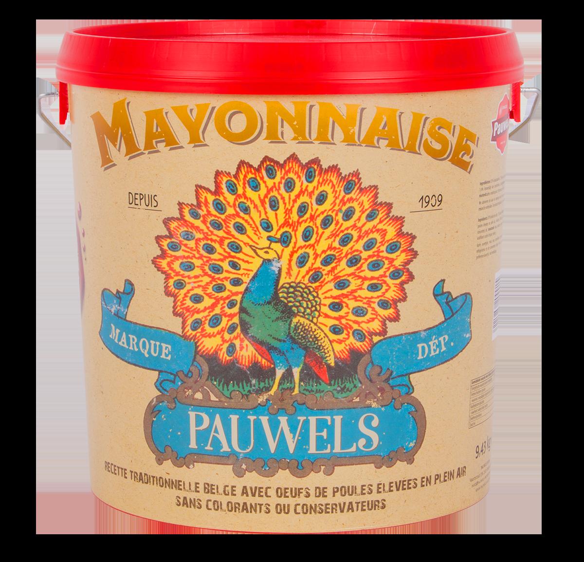Mayonnaise 110 10L Seau Pauwels Sauces
