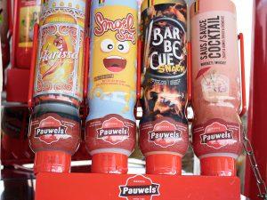 pauwels sauzen harissa smoelsaus barbecue snack cocktail