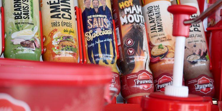 Pauwels sauzen americaine romeo saus hot mammouth jalapeno mayonaise