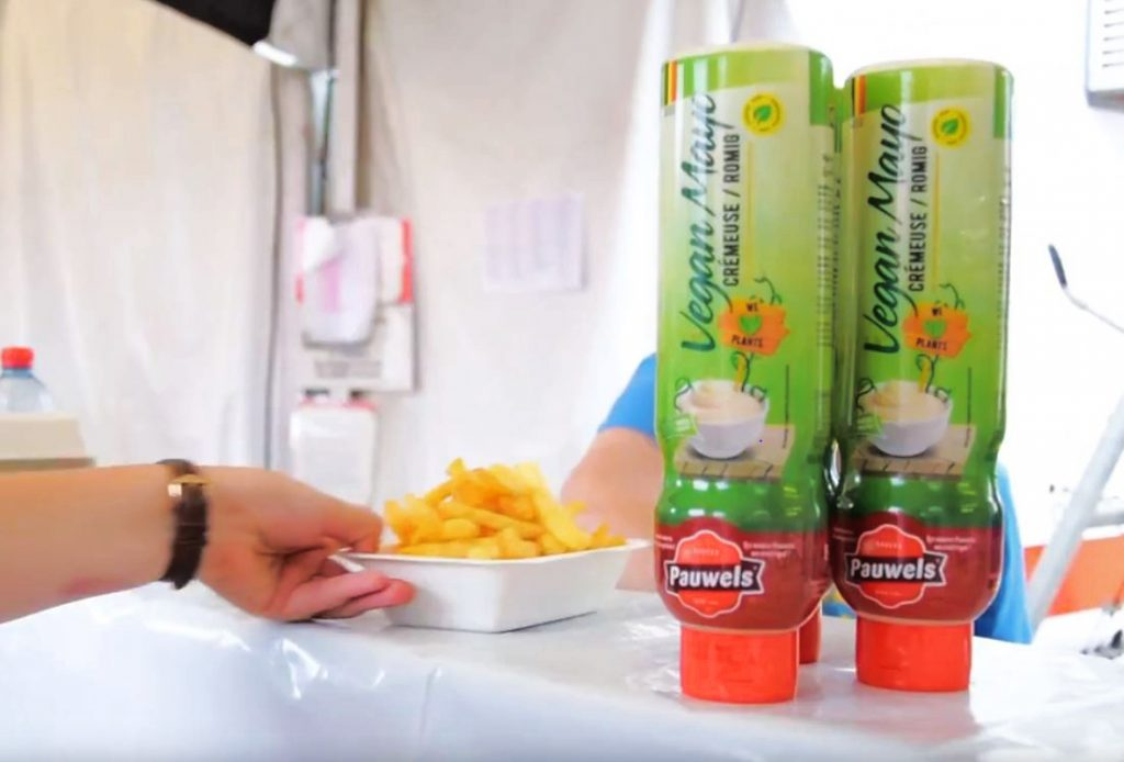 vegan mayo van pauwels sauzen