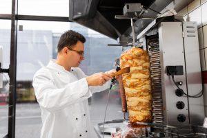 Döner vlees kebab shoarma