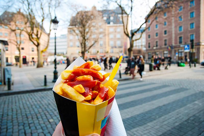 Ketchup friet pauwels