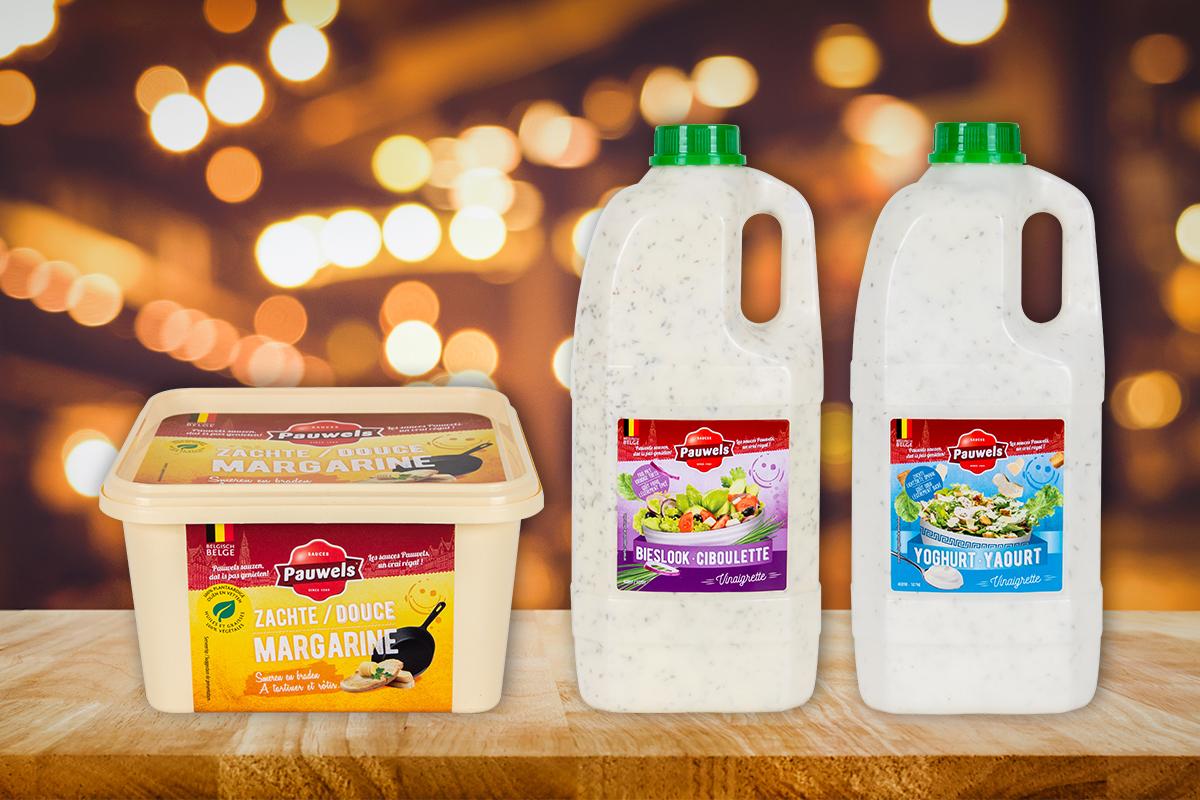 Margarine en Vinaigrettes van Pauwels Sauzen