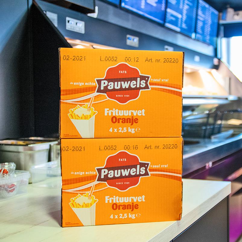 Frituurvet Oranje Mixvet van Pauwels Sauzen