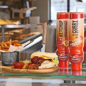 Friethuis Hamburger Ketchup Pauwels sauzen